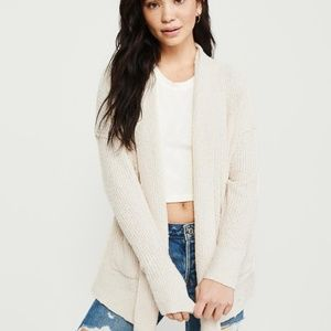 ABERCROMBIE & FITCH Easy Open Front Cardigan